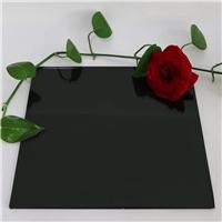 供应6mm镀膜黑膜玻璃