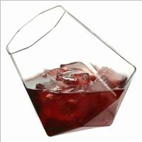 钻石酒杯啤酒杯子手工创意玻璃洋酒杯