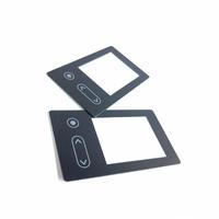 流行音樂播放器面板玻璃合格率100%多點觸控絲印玻璃