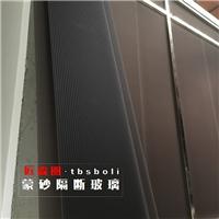 中山高品質蒙砂玻璃加工