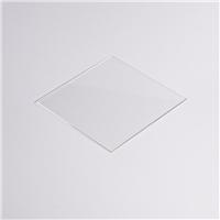 厂家直供1.1mm超白玻璃/光学镜片100*100可定制加工