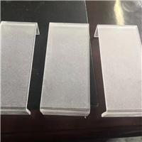 郑州中牟县超白7毫米U形热弯钢化玻璃