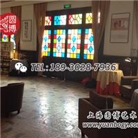 圓博工藝彩色玻璃窗彩色裝飾玻璃彩繪玻璃