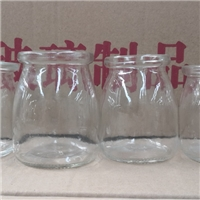 徐州出口玻璃瓶厂家加工定做玻璃奶瓶