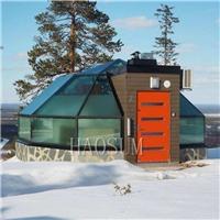 玻璃房定做 透明玻璃屋 度假酒店玻璃屋