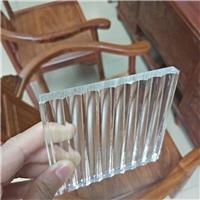 广州玻璃隔断 条纹玻璃隔断 夹丝玻璃隔断