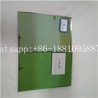 廠家直銷4mm深綠在線鍍膜玻璃