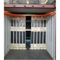 玻璃简化包装装柜