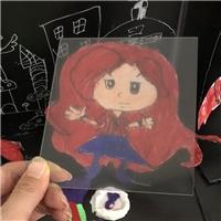 儿童画作保护专用的AG玻璃 不反光AG玻璃