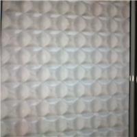 裝飾鑲嵌玻璃-壓花玻璃金元,銀波,千禧格