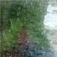 裝飾鑲嵌玻璃-壓花玻璃折花