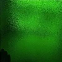 裝飾鑲嵌玻璃-綠色壓花玻璃