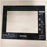 东莞钢化玻璃厂定制加工消毒柜钢化玻璃面板