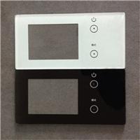 东莞钢化玻璃厂家加工智能丝印钢化玻璃面板