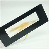 朦胧美感AG玻璃 黑丝丝印显示屏丝印AG玻璃