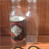 徐州出口玻璃瓶厂家供应玻璃饮料瓶