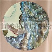 现货5mm 珐琅彩挂画 玻璃