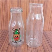 徐州出口玻璃瓶厂家供应高白料玻璃奶瓶配套瓶盖
