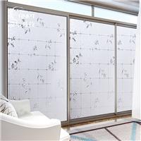 RNPT瑞年 无胶自粘静电玻璃贴膜防透走光窗户玻璃纸