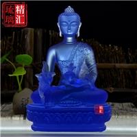 北京琉璃藥師七佛佛像 密宗藥師佛 廣州琉璃工廠 雕像