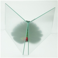 公共信息查询显示屏AG玻璃 多点触控防反光AG玻璃