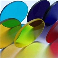 各類尺寸有色/無色光學濾色片