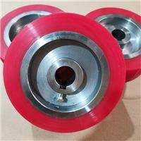 供应玻璃输送线聚氨酯滚轮 非标定制聚氨酯胶轮