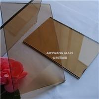 金茶玻 浮法色玻 原片玻璃