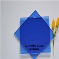 宝石蓝玻璃 深蓝玻璃