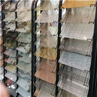 定制背景墻屏風夾絲玻璃 廠家直銷藝術夾絲玻璃