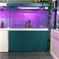 宁夏鱼缸厂家成批出售水族定制超白玻家用客厅品牌名亨水族