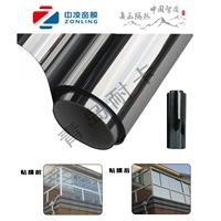青岛住宅别墅阳光房阳台玻璃贴膜3M龙膜中凌隔热膜