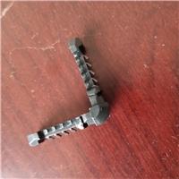 河北厂家直供玻璃插角铝条直插件护角软木垫防水标签