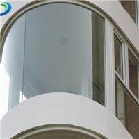 郑州弯弧夹胶钢化玻璃价格