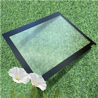 虚实结合抗反射AG玻璃 绽放心底一体黑显示屏ag玻璃