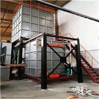 長興立式鋁合金淬火爐 鋁合金固溶處理爐