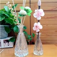 高等玻璃瓶无火香熏瓶藤条插花瓶桌面装饰挥发瓶