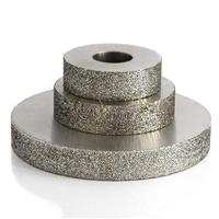 订制磨聚氨酯复合材料 平行金刚石磨边轮 粗砂40目