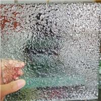 厂家定制 别墅热熔玻璃 热熔玻璃定制 波浪热熔玻璃