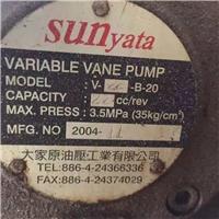 V-22-B-20寶島sunyata油泵