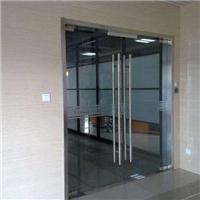 天津武清区安装玻璃门技术简介