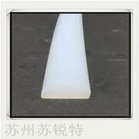 白色硅胶D型密实耐磨损密封条