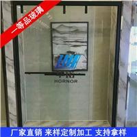淋浴房夹胶玻璃 淋浴房透明雾化玻璃 淋浴房玻璃隔断