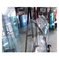直销 热弯玻璃 多少钱平米 热弯夹胶玻璃  热弯玻璃