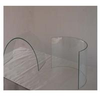 热弯夹胶玻璃  热弯玻璃 加工 曲边玻璃  厂家定制