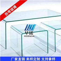 免费打样 热弯曲面玻璃  热弯中空玻璃  弯钢定制