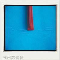 红色硅胶T型密实防水密封条