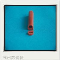 红色硅胶E型耐磨损皮条