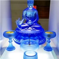 宝岛琉璃佛像定制 古法琉璃佛像厂家 广州琉璃工坊厂家