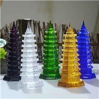 广州琉璃工厂 琉璃文昌塔定制 琉璃宝塔风水摆件工厂